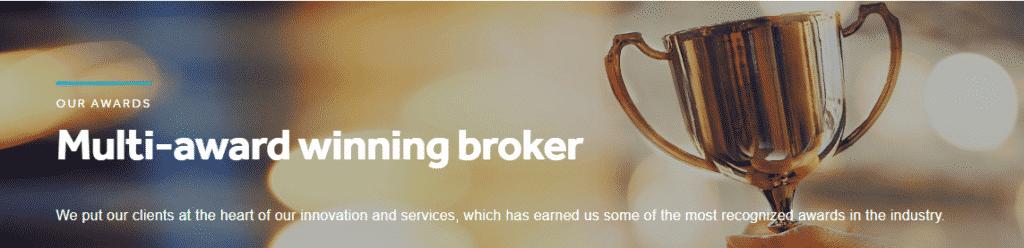 OANDA is Multi-award winning broker